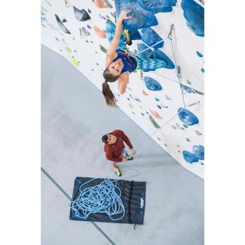 Corde d'escalade Indoor ROCK 10mm x 45m Bleu