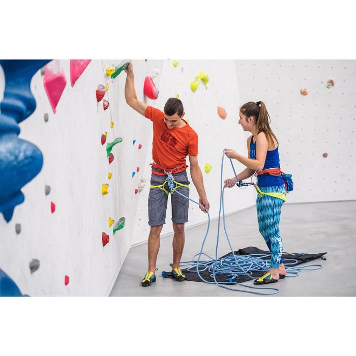 Corde d'escalade Indoor ROCK 10mm x 35m Verte - 1352458
