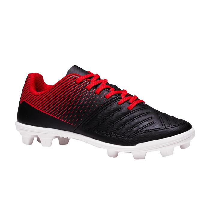 Voetbalschoenen kind Agility 100 FG (maat 25, 26, 27) zwart