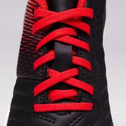 Chaussure de football Baby terrain dur Agility 100 HG noire blanche rouge