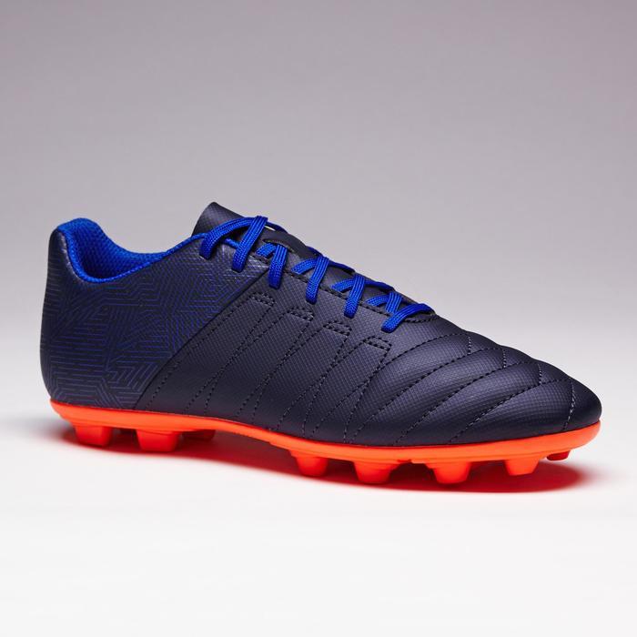 Chaussure de football enfant terrains secs Agility 300 FG bleue - 1352521