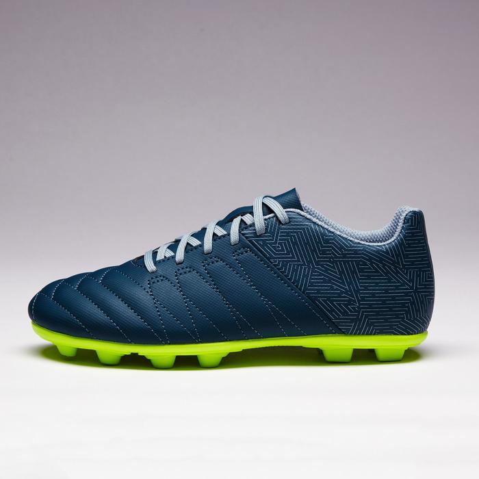 Chaussure de football enfant terrains secs Agility 300 FG bleue - 1352534