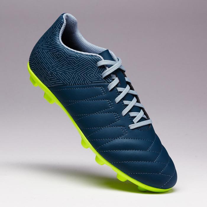 Chaussure de football enfant terrains secs Agility 300 FG bleue - 1352535