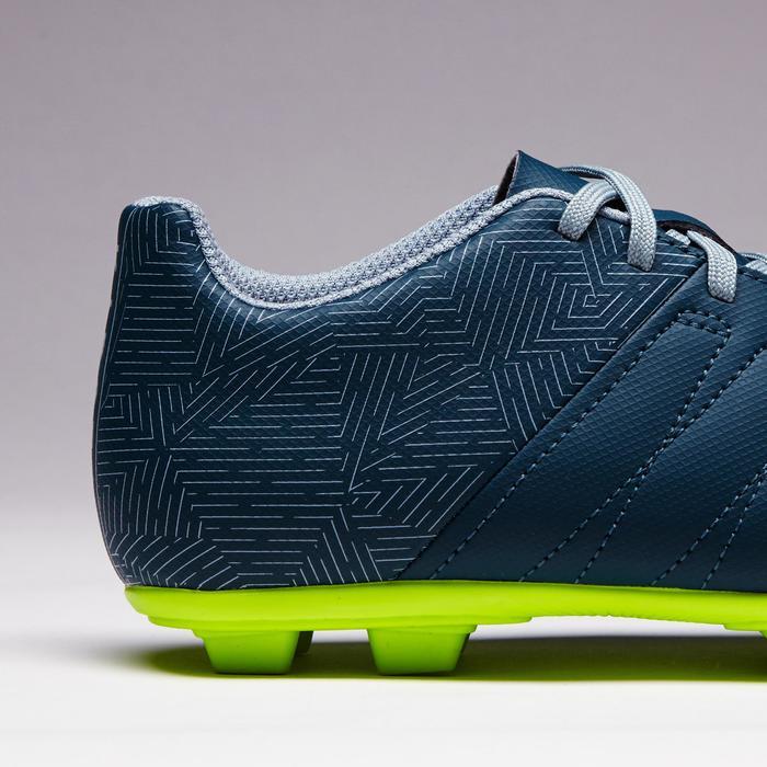 Chaussure de football enfant terrains secs Agility 300 FG bleue - 1352537