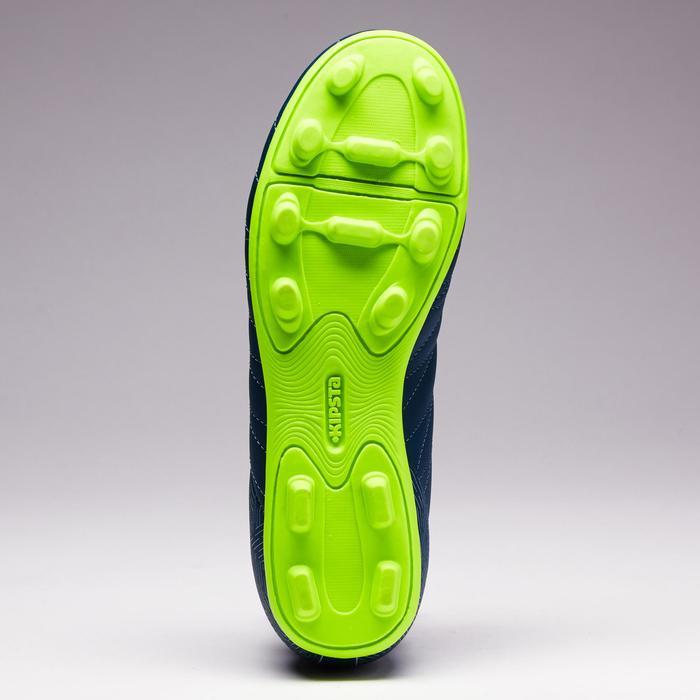 Fußballschuhe Nocken Agility 300 FG Trockenböden Kinder grün/gelb