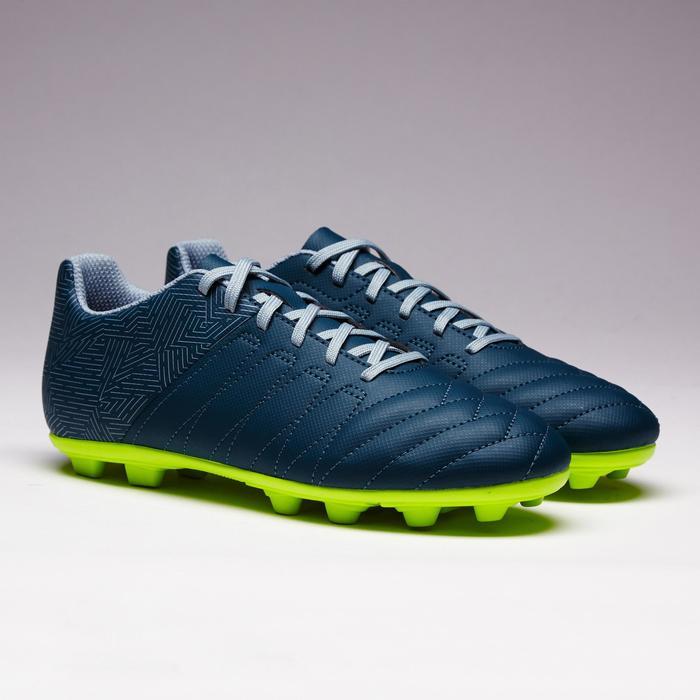 Chaussure de football enfant terrains secs Agility 300 FG bleue - 1352540