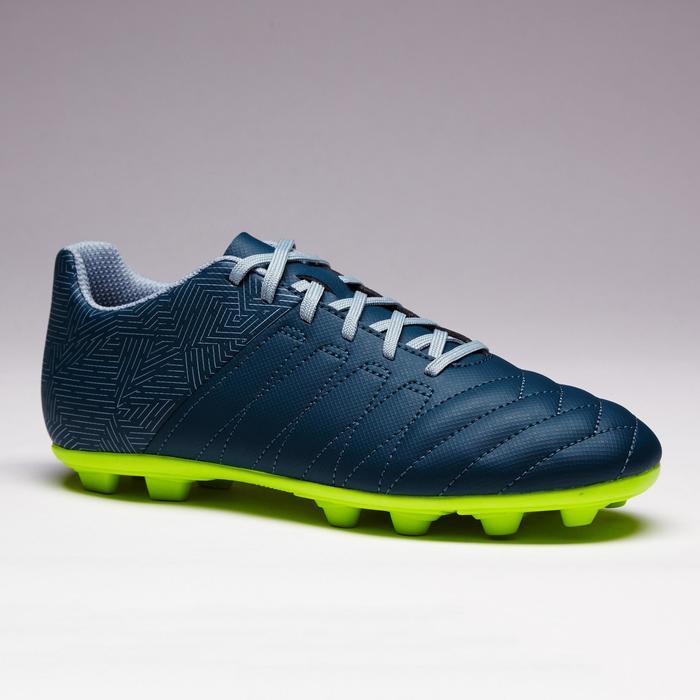 Chaussure de football enfant terrains secs Agility 300 FG bleue - 1352541
