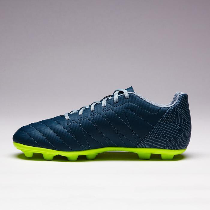 Chaussure de football enfant terrains secs Agility 300 FG bleue - 1352543