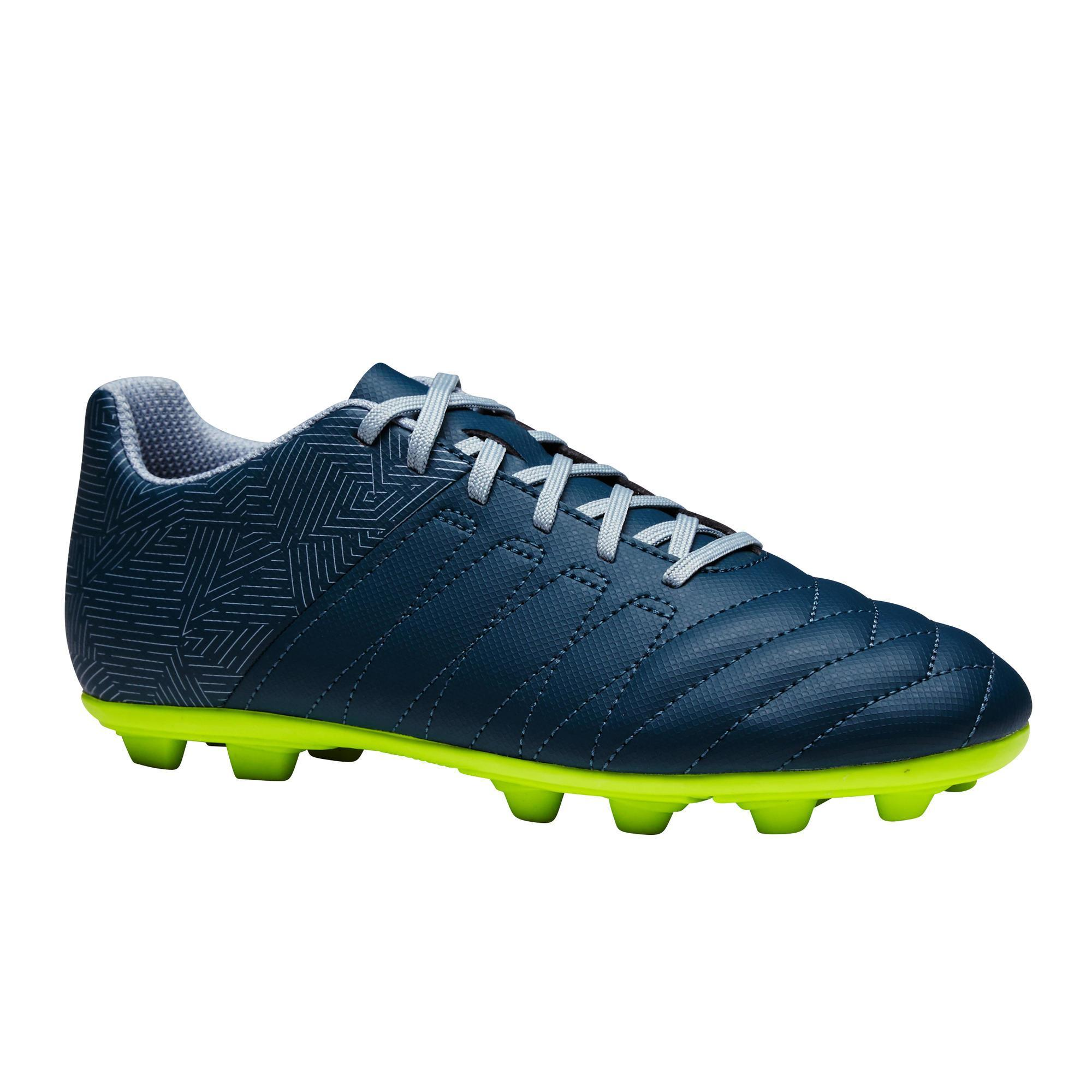 Kipsta Voetbalschoenen kind Agility 300 FG blauw/geel