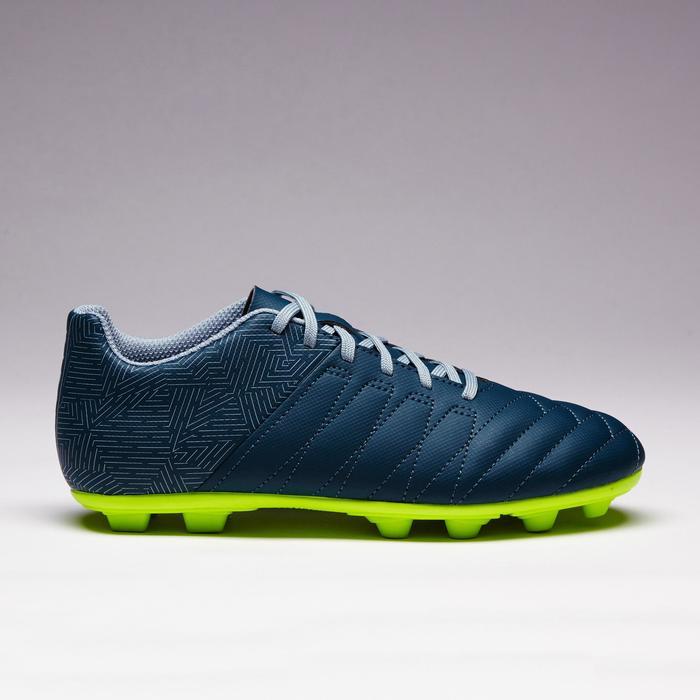 Chaussure de football enfant terrains secs Agility 300 FG bleue - 1352545