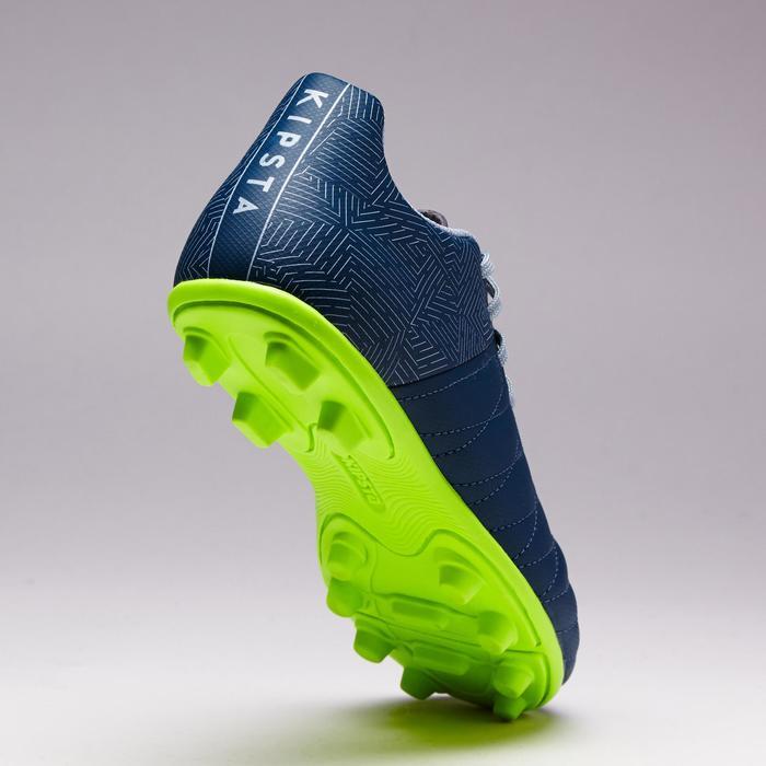 Chaussure de football enfant terrains secs Agility 300 FG bleue - 1352546