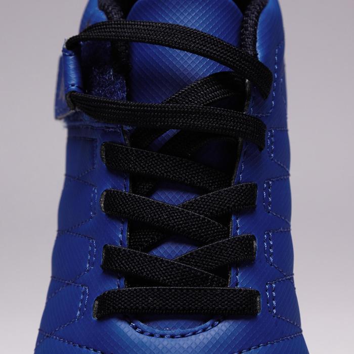 Chaussure de football enfant terrains secs Agility 300  FG à scratch bleue - 1352558