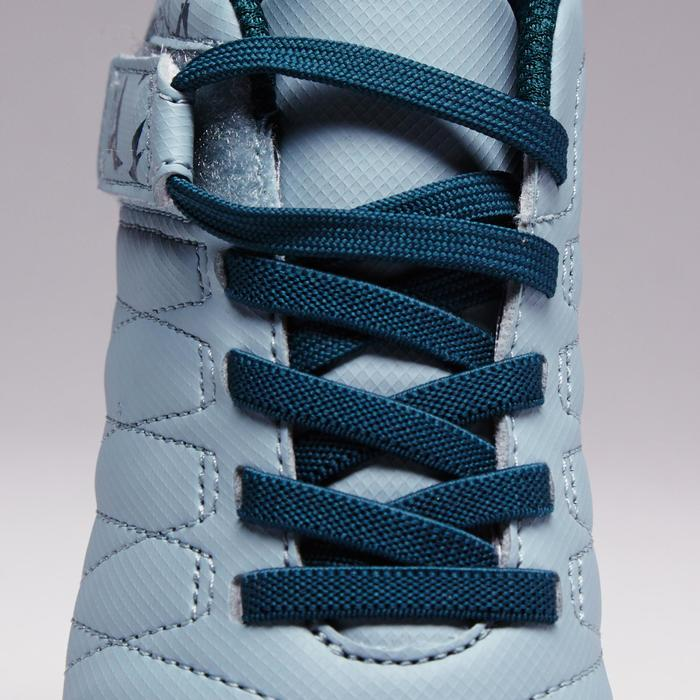 Chaussure de football enfant terrains secs Agility 300  FG à scratch bleue - 1352569