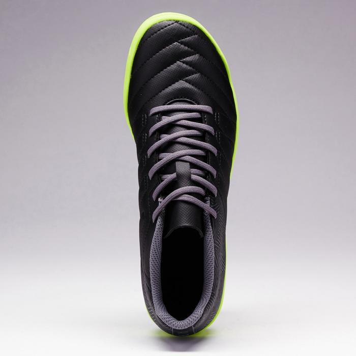 Chaussure de football enfant terrains durs Agility 300 HG France bleue rouge