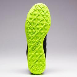 Voetbalschoenen voor kinderen Agility 140 HG hard terrein zwart geel