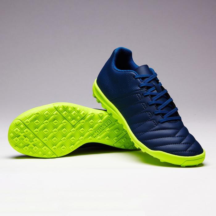 Voetbalschoenen voor kinderen Agility 140 HG hard terrein blauw/geel