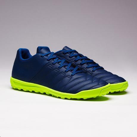 Chaussure Football Dur De Enfant Terrain Bleue Jaune Agility 140 Hg KlF1Jc