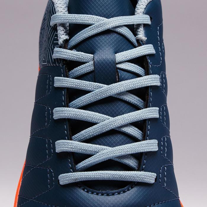 Chaussure de football enfant terrains durs Agility 300 HG France bleue orange
