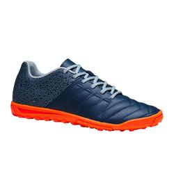 Voetbalschoenen kind Agility 300 HG blauw/oranje