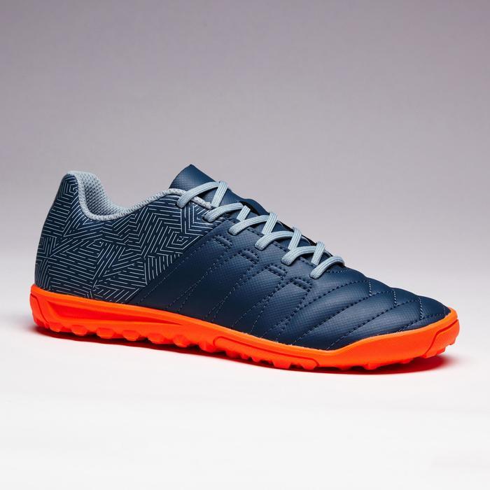 Chaussure de football enfant terrains durs Agility 300 HG bleue - 1352616