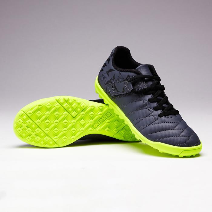 Chaussure de football enfant terrains durs Agility  300 HG à scratch bleue - 1352618