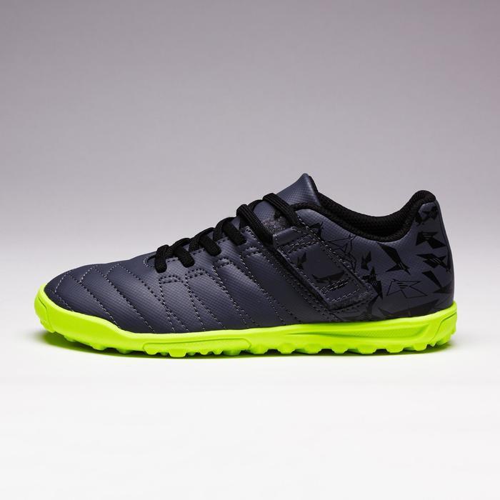 Chaussure de football enfant terrains durs Agility  300 HG à scratch bleue - 1352621
