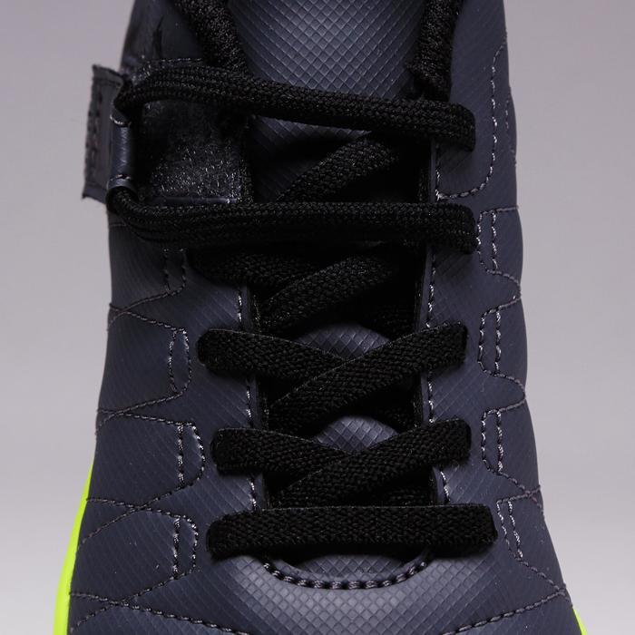 Chaussure de football enfant terrains durs Agility  300 HG à scratch bleue - 1352622