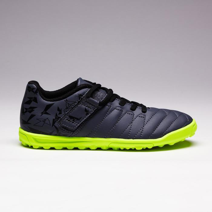 Chaussure de football enfant terrains durs Agility  300 HG à scratch bleue - 1352624