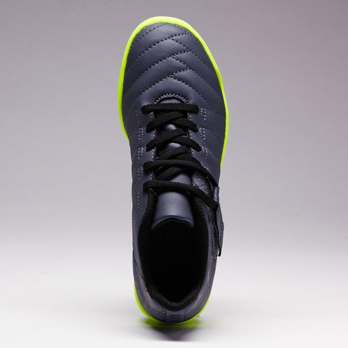 Chaussure de football enfant terrains durs Agility  300 HG à scratch bleue - 1352625