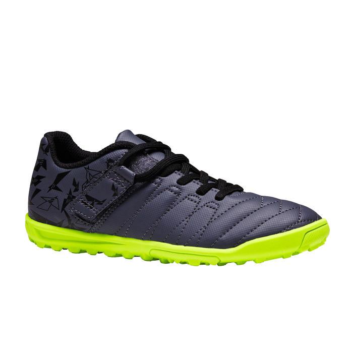 Chaussure de football enfant terrains durs Agility  300 HG à scratch bleue - 1352629
