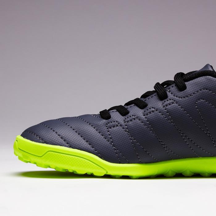 Chaussure de football enfant terrains durs Agility  300 HG à scratch bleue - 1352630
