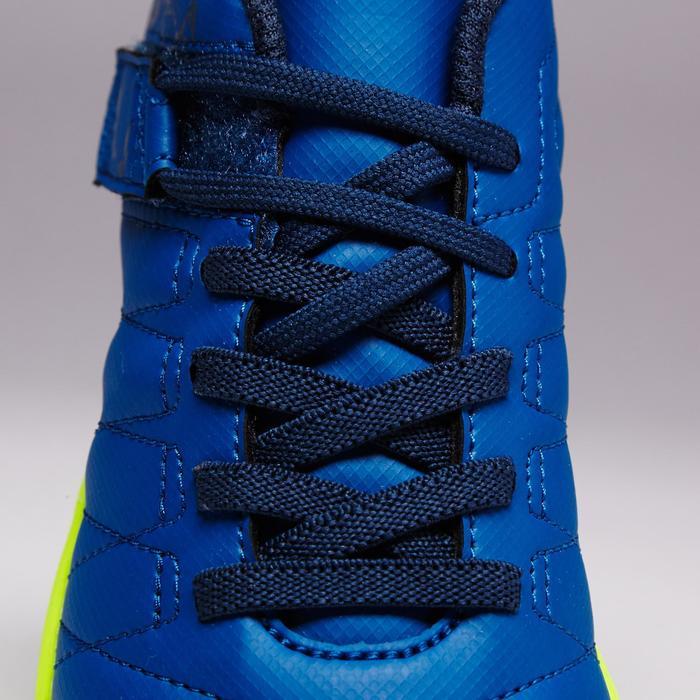 Chaussure de football enfant terrains durs Agility  300 HG à scratch bleue - 1352633