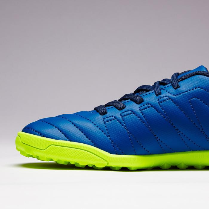 Chaussure de football enfant terrains durs Agility  300 HG à scratch bleue - 1352636