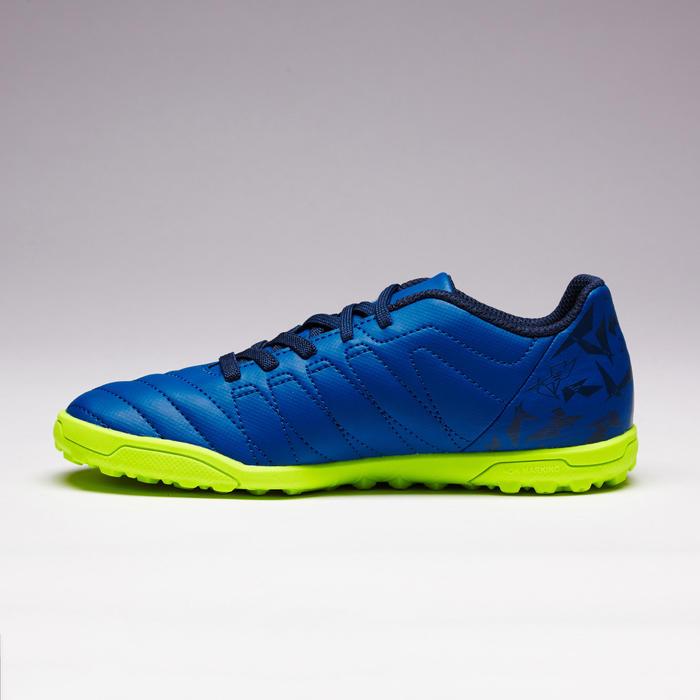 Chaussure de football enfant terrains durs Agility  300 HG à scratch bleue - 1352640