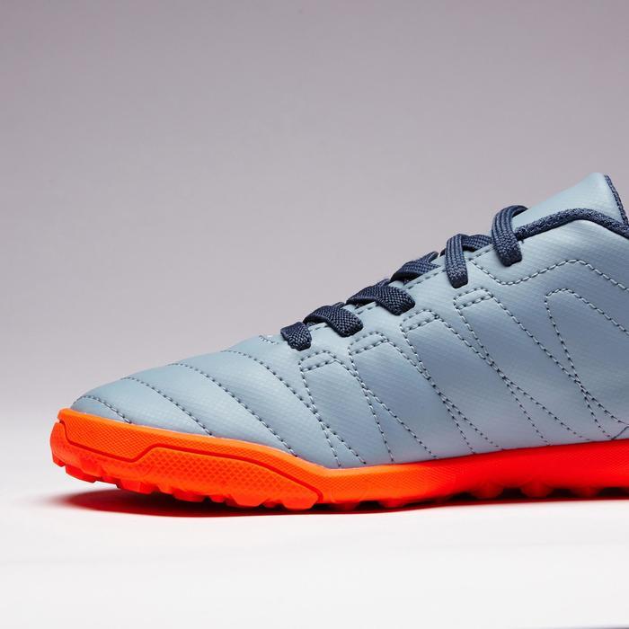 Chaussure de football enfant terrains durs Agility  300 HG à scratch bleue - 1352652