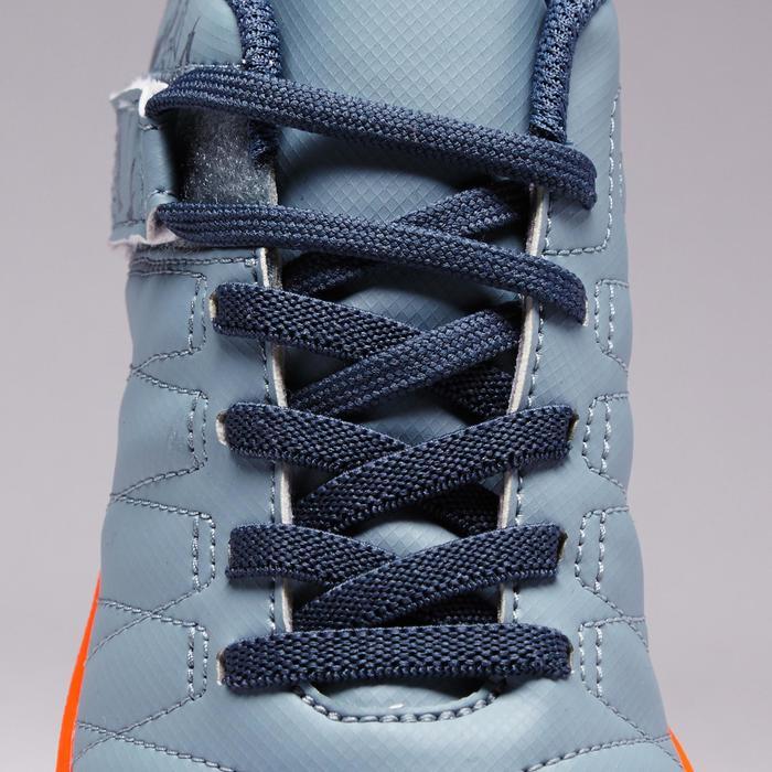 Chaussure de football enfant terrains durs Agility  300 HG à scratch bleue - 1352658