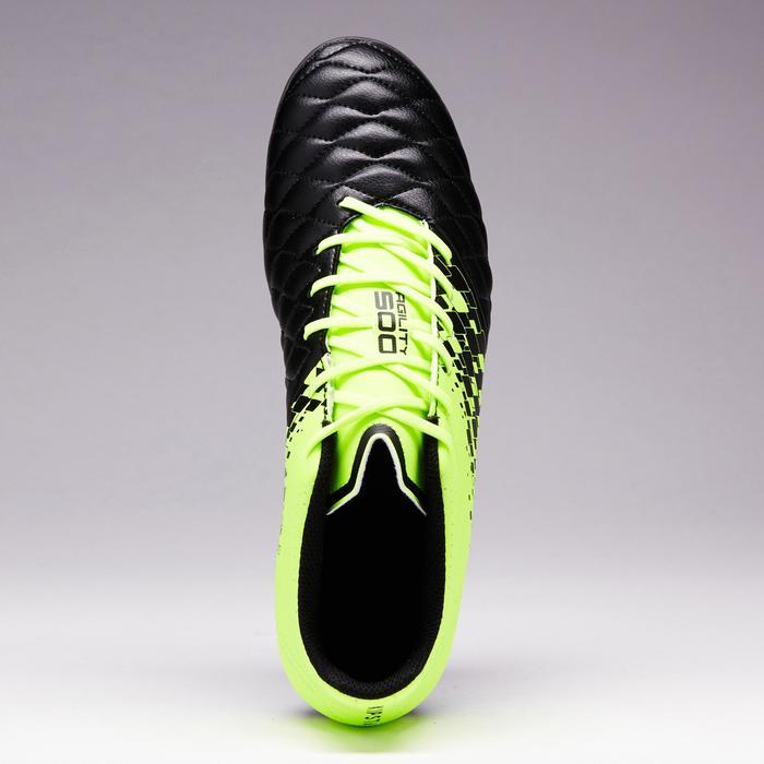 Chaussure de football adulte terrains secs Agility 500 FG bleue - 1352660