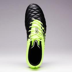 Fußballschuhe Agility 500 FG Erwachsene schwarz/gelb