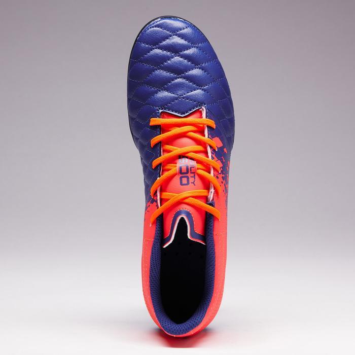 Chaussure de football enfant terrains secs Agility 500 FG bleu orange - 1352682