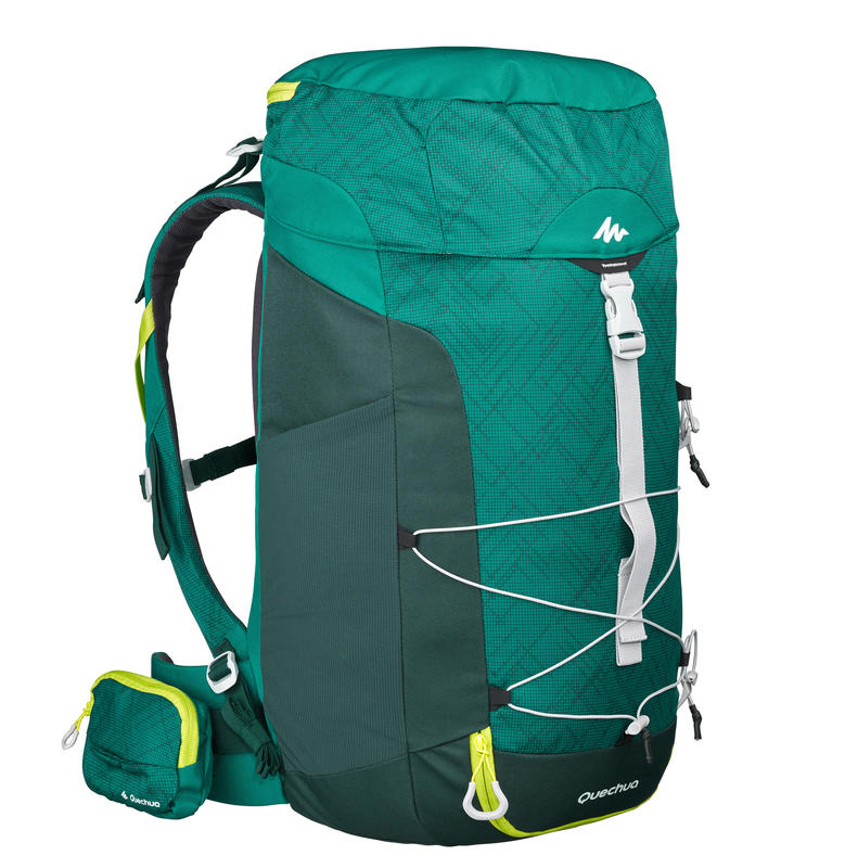 Mountain Hiking Backpack MH100 40L - Green 448f966835b12