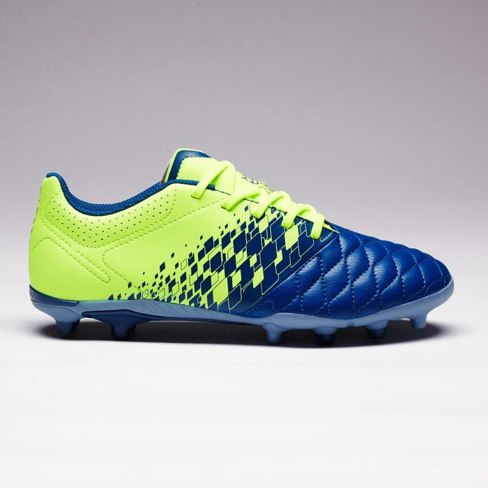 Chaussure de football enfant terrains secs Agility 500 FG bleu orange - 1352700