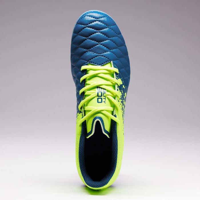 Chaussure de football enfant terrains secs Agility 500 FG bleu orange - 1352702