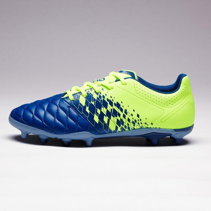 Chaussure de football enfant terrains secs Agility 500 FG bleu orange - 1352705