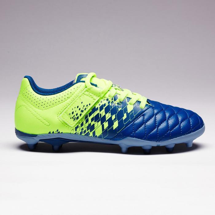 Chaussure de football enfant terrains secs Agility 500 FG bleu orange - 1352729