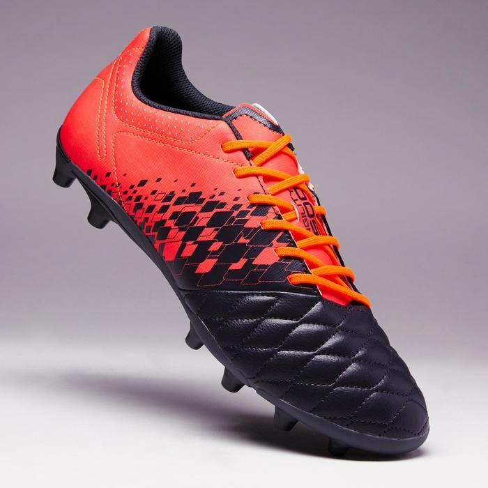 Chaussure de football adulte terrains secs Agility 500 FG bleue - 1352762