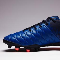 Voetbalschoenen dames Agility 500 FG blauw