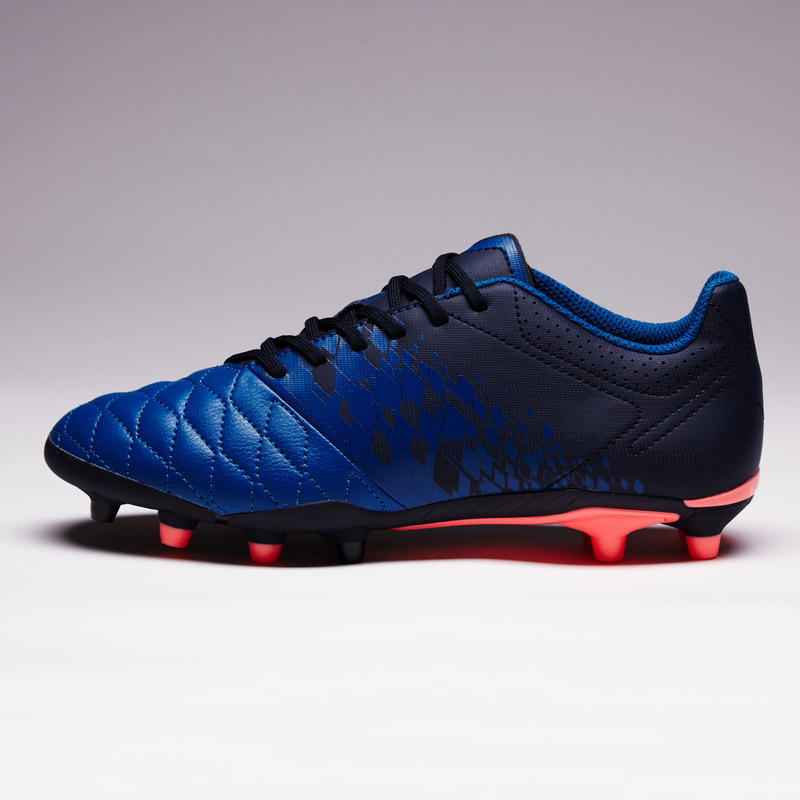 Agility 500 FG Women's Dry Pitch Football Boots - Blue