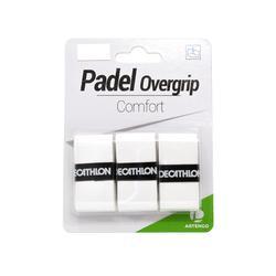 OVERGRIP DE PÁDEL ARTENGO COMFORT x3 WHITE