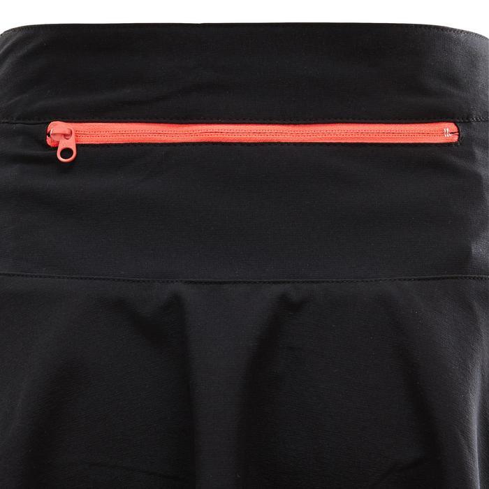 Jupe VTT ST 500 Femme Noir Rose - 1352847