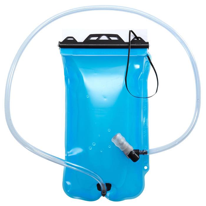 Poche à eau de trekking TREK500 1 litre bleue